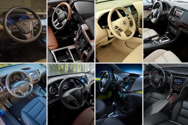 Десятка лучших автомобильных интерьеров 2013