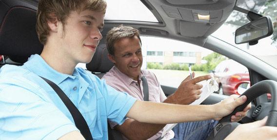 Обучение вождению с автоинструктором