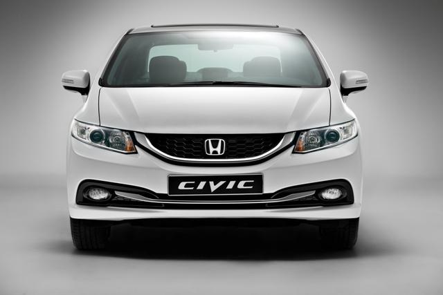 Обновленный Civic 4D едет в Россию