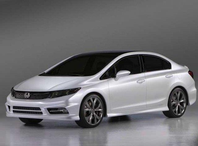 Honda Civic 2013 получила 5 звезд в рейтинге безопасности