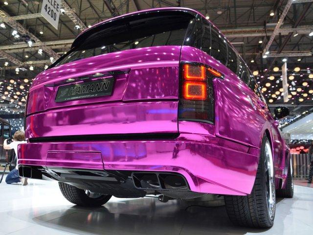 Розовый тюнинг Range Rover от Hamann