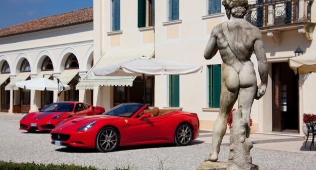 Ferrari проведет поездку по Италии