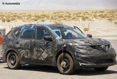 Шпионские фото нового Nissan X-Trail появились в сети