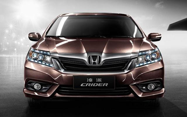 Озвучена стоимость нового седана Honda Crider