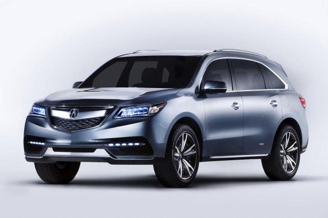 Acura объявила цены на MDX третьего поколения