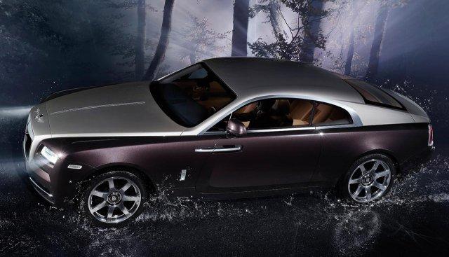 Единая стоимость Roll-Royce Wraith - 245 тысяч евро