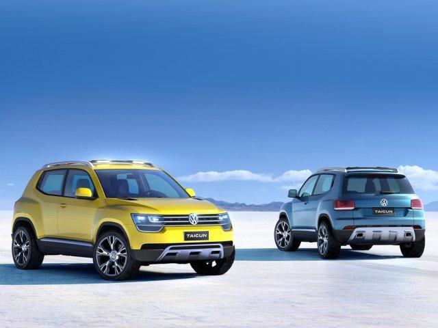 Маленький кроссовер Volkswagen Taigun поступит в продажу