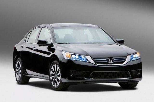 Honda показала «неподзаряжаемый» гибридный Accord