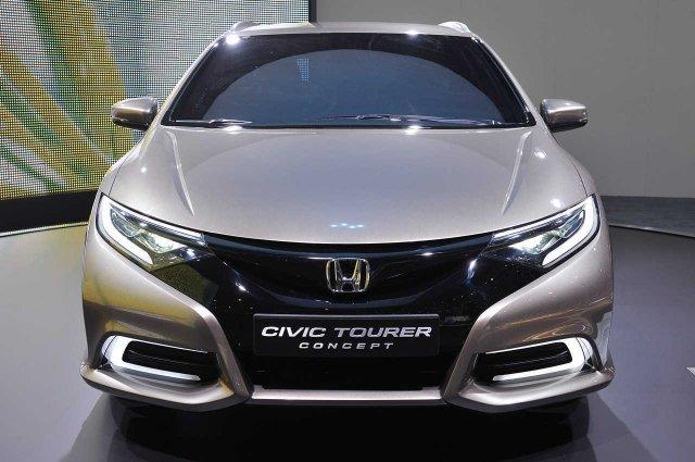 Honda готовит «заряженную» версию Civic Tourer