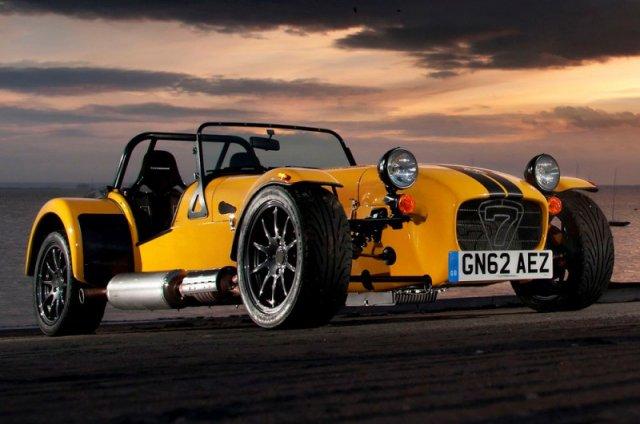 Caterham представит новенький спорткар в 2014-м