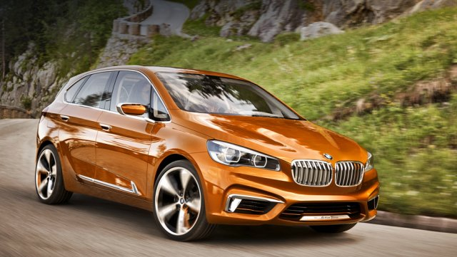Новый концепт Active Tourer Outdoor от BMW