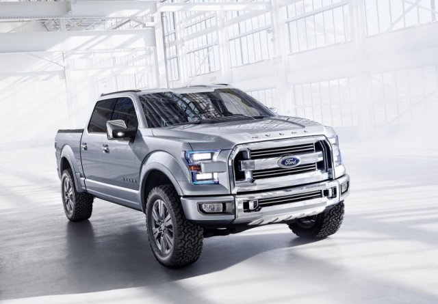 Новый пикап Ford F-150 получит алюминиевый кузов