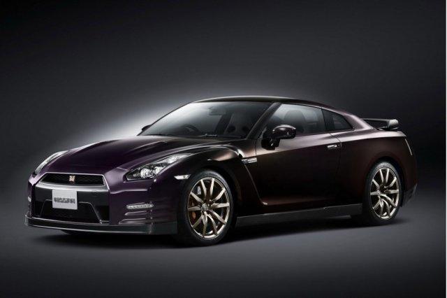 Эксклюзивный Nissan GT-R Midnight Opal