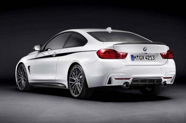 BMW представила 4-Series с пакетом M-Performance