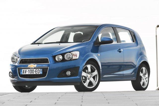 Соревнуются хэтчбеки Hyundai Solaris и Chevrolet Aveo