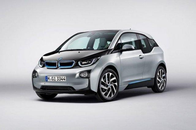 BMW i3 - официальные изображения