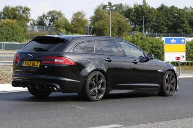 Первые изображения универсала Jaguar XFR-S Sportbrake