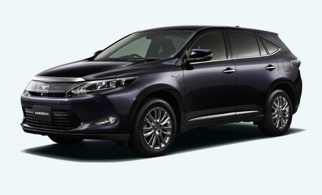 Первые изображения нового поколения Toyota Harrier