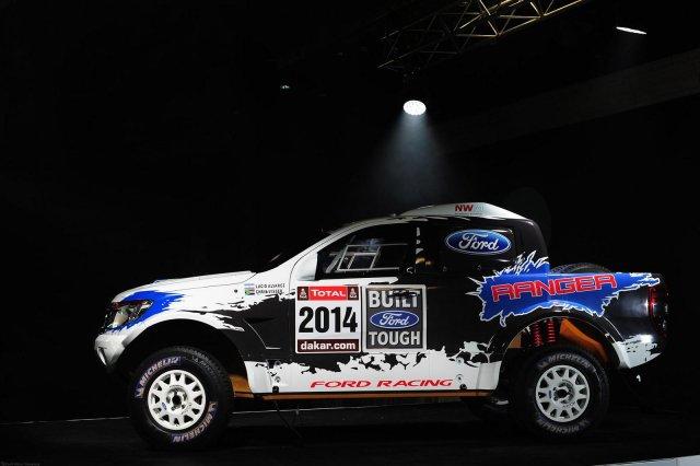 Специальная версия Ford Ranger для «Дакар-2014»