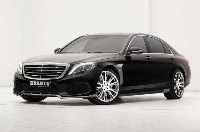 Brabus усовершенствовали Mercedes-Benz S-Class 2014