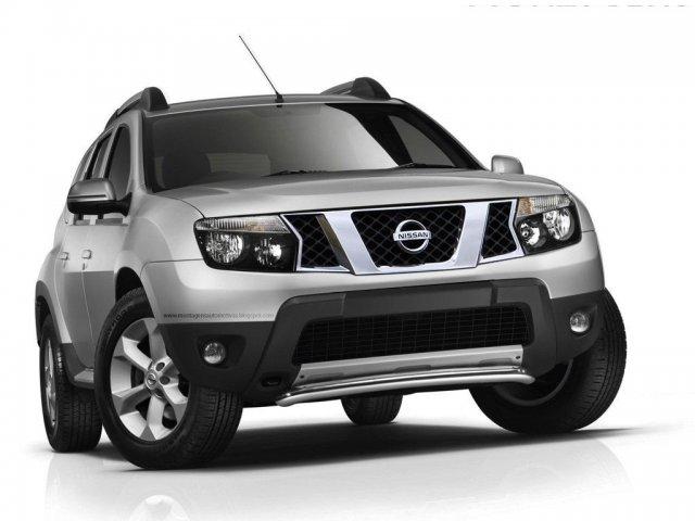 Компания Nissan представит новый Terrano 20 августа
