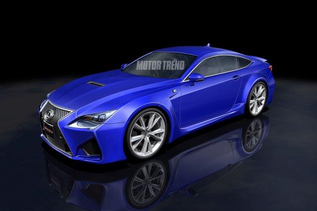 В сети появились фото нового купе RC от Lexus