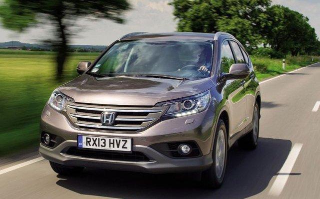 Honda озвучила стоимость дизельной CR-V