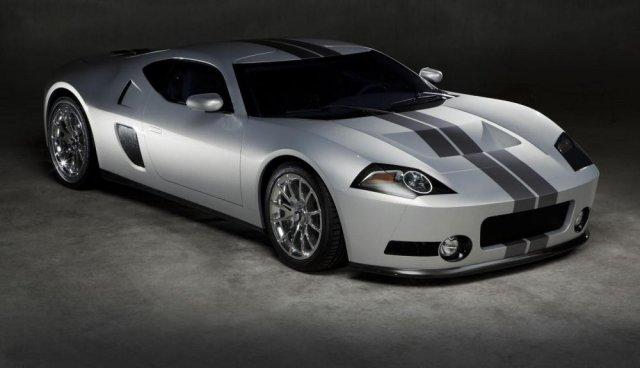 Ателье GAS представило суперкар на базе Ford GT
