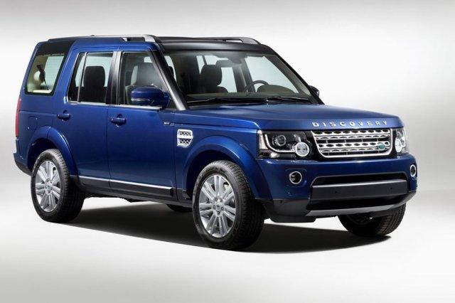 Land Rover показал обновленный Discovery